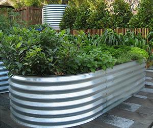 Galvanized Steel Garden Raised Bed